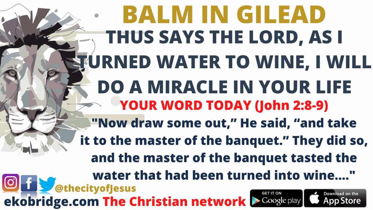John 2_8-9  - BALM IN GILEAD 1920 x 1080