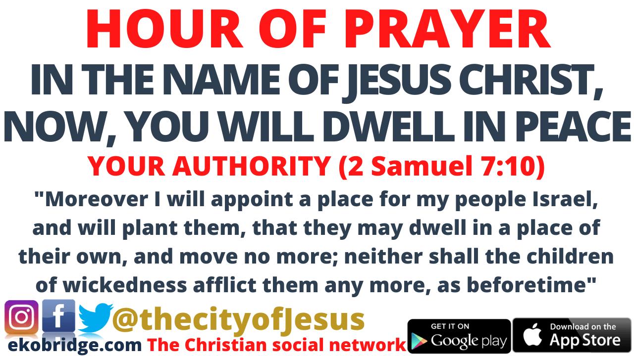 2 Samuel 710 - HOUR OF PRAYER 960