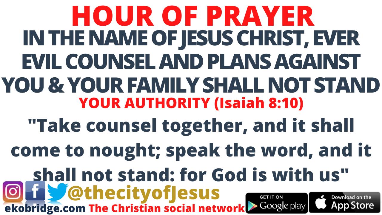 Isaiah 810 - HOUR OF PRAYER 960