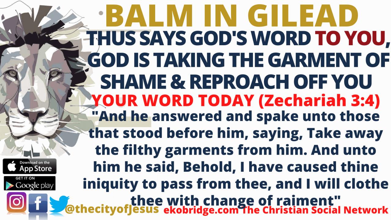 Zechariah 34 BALM IN GILEAD 1920 x 1080
