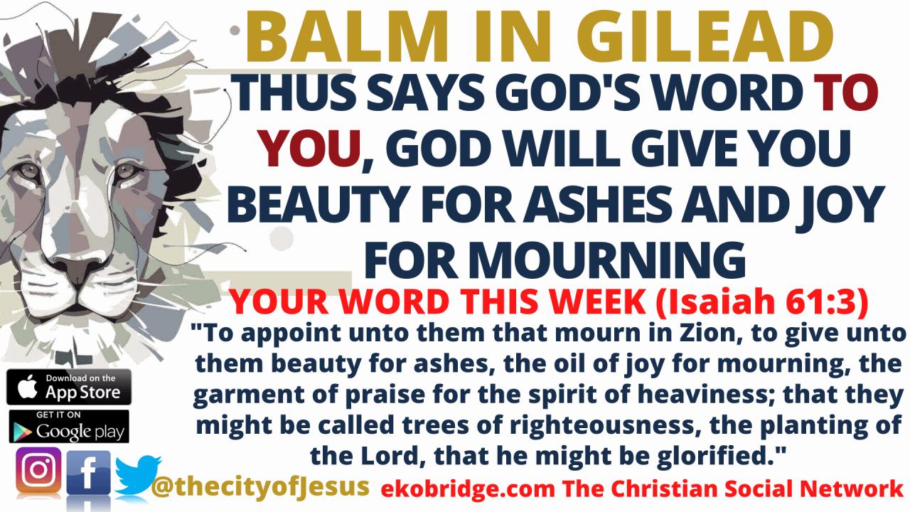 isaiah 613 BALM IN GILEAD 1920 x 1080