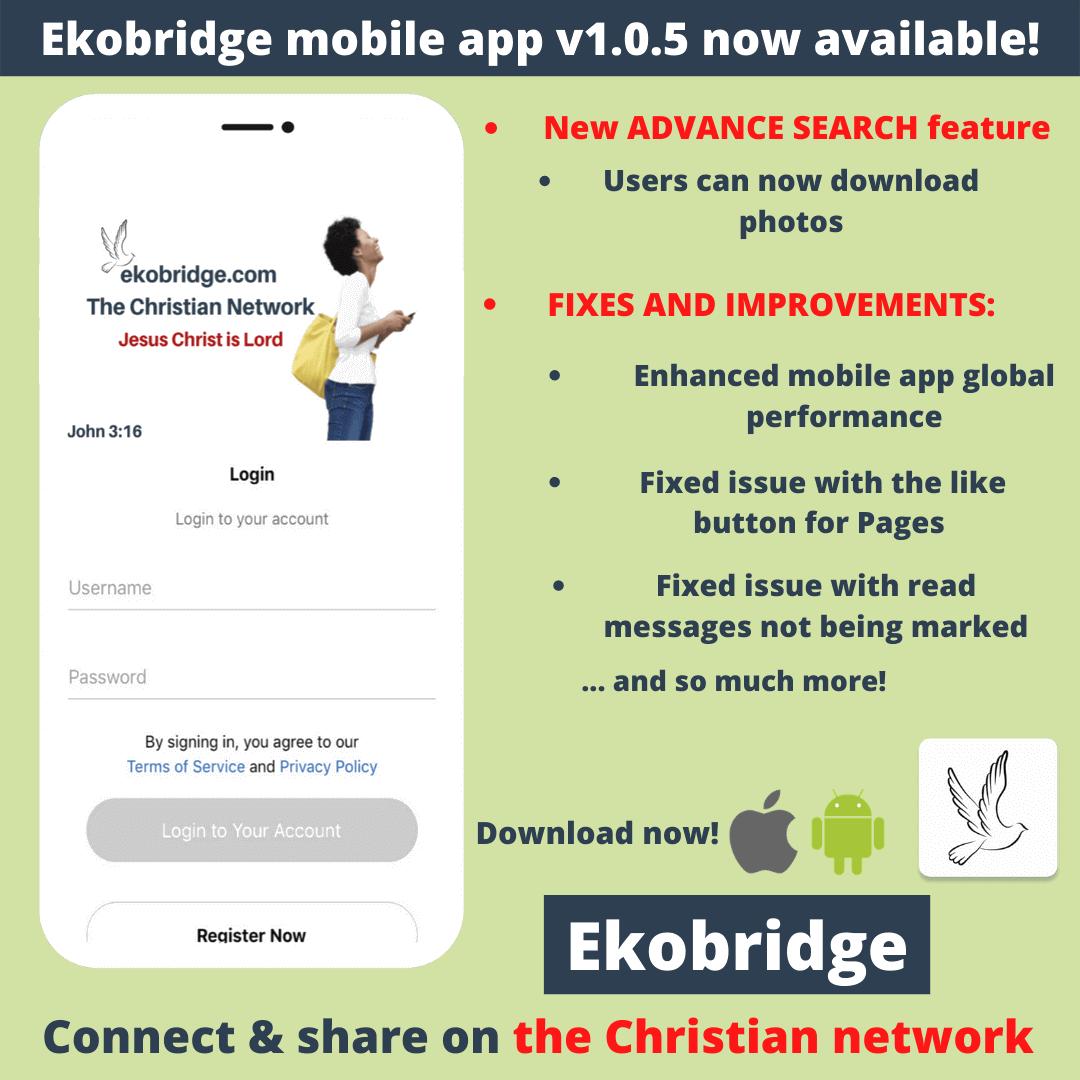 Ekobridge update v 1.0.5 1080 x 1080