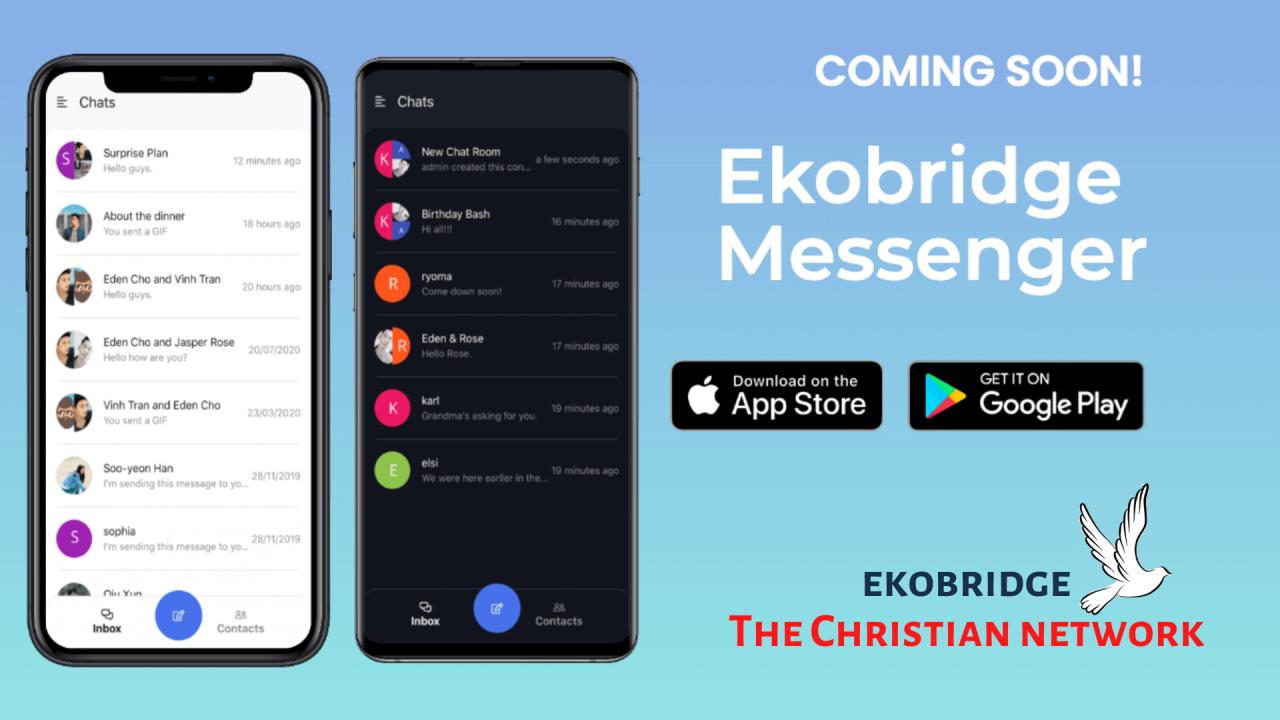 Ekobridge Messenger - coming soon 1024