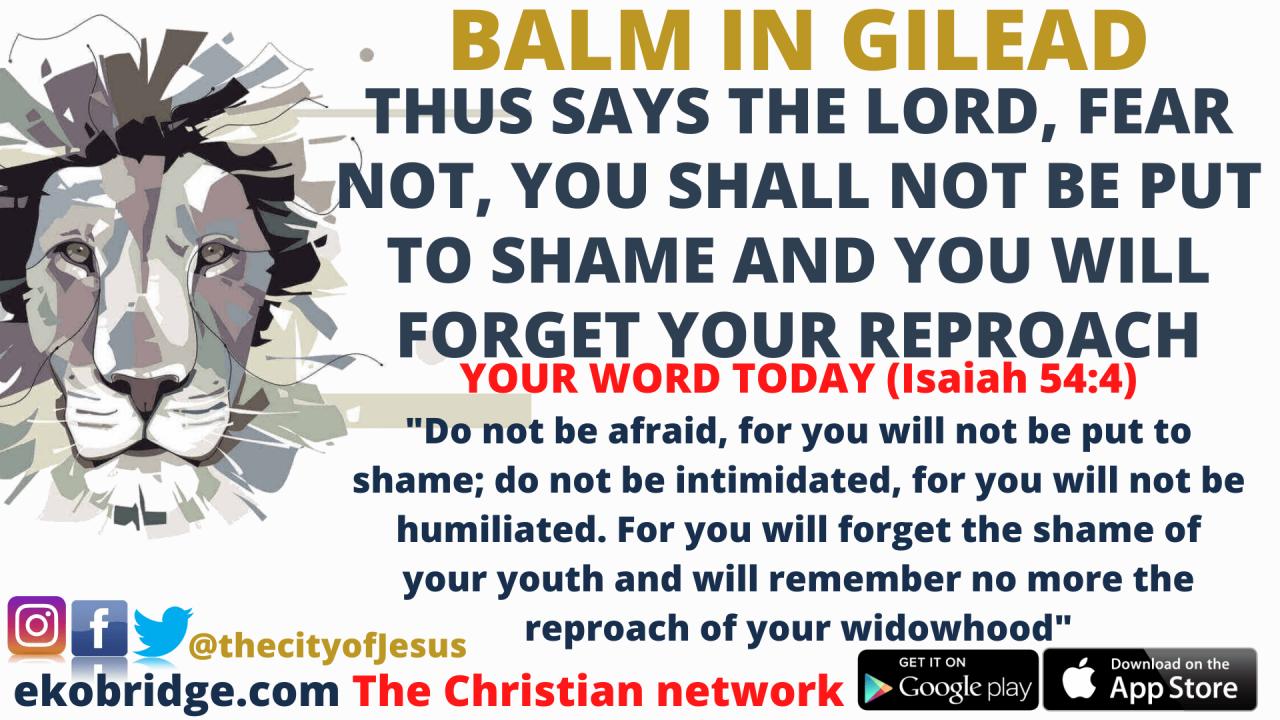 Isaiah 54_4 - BALM IN GILEAD 1920 x 1080