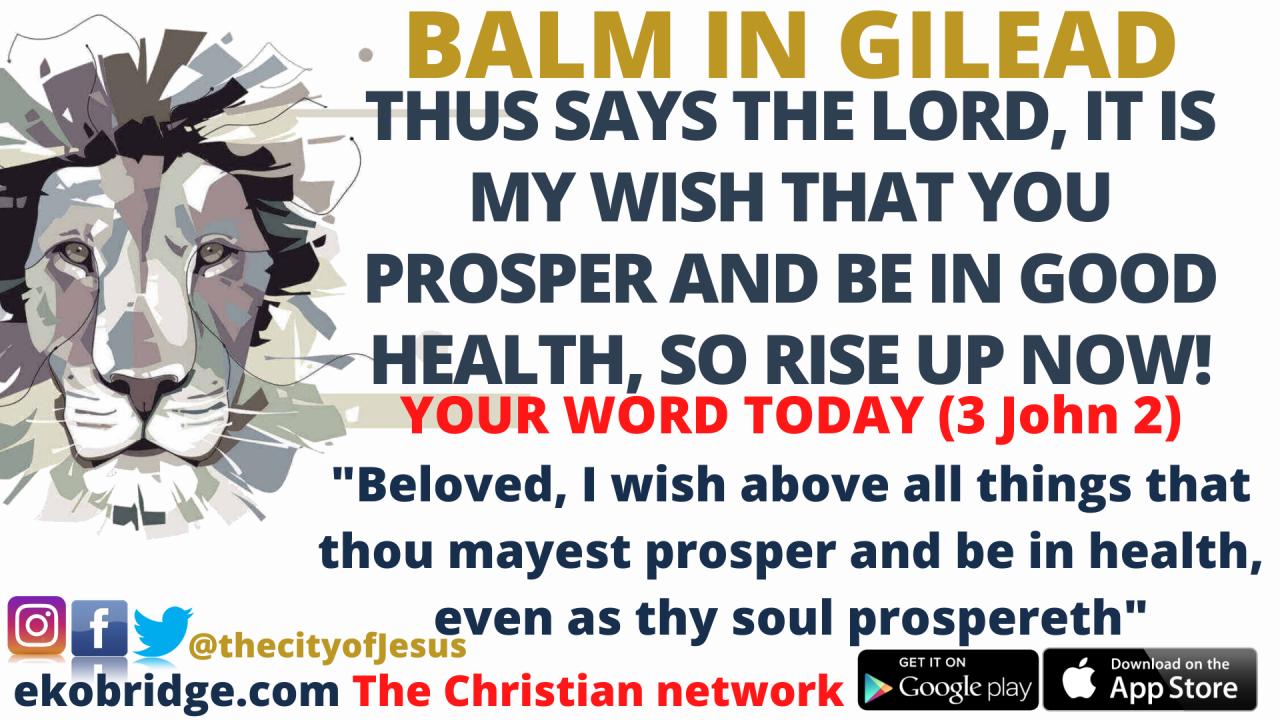 3 John 2 - BALM IN GILEAD 1920 x 1080