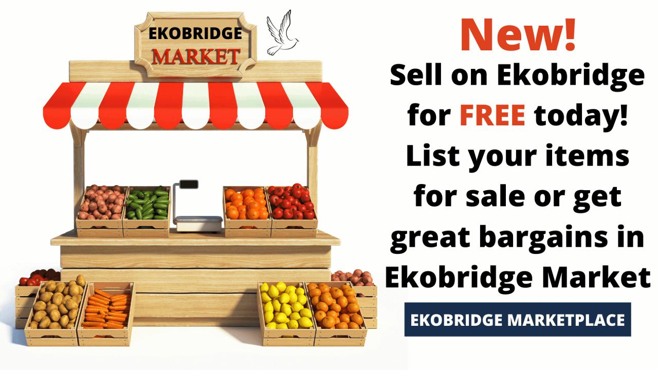 Ekobridge Marketplace