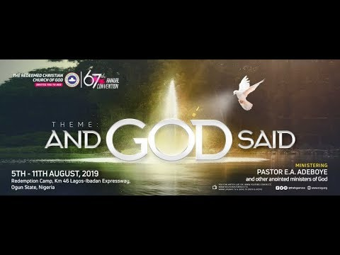 RCCG 2019 CONVENTION DAY 2 - WELCOME SERVICE (PLENARY SESSION 1)-1